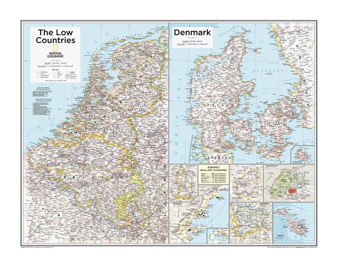 The Low Countries, Denmark, and Europe's Smallest Countries