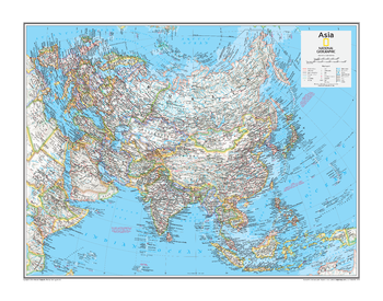 Asia Political - Atlas of the World, 10th Edition