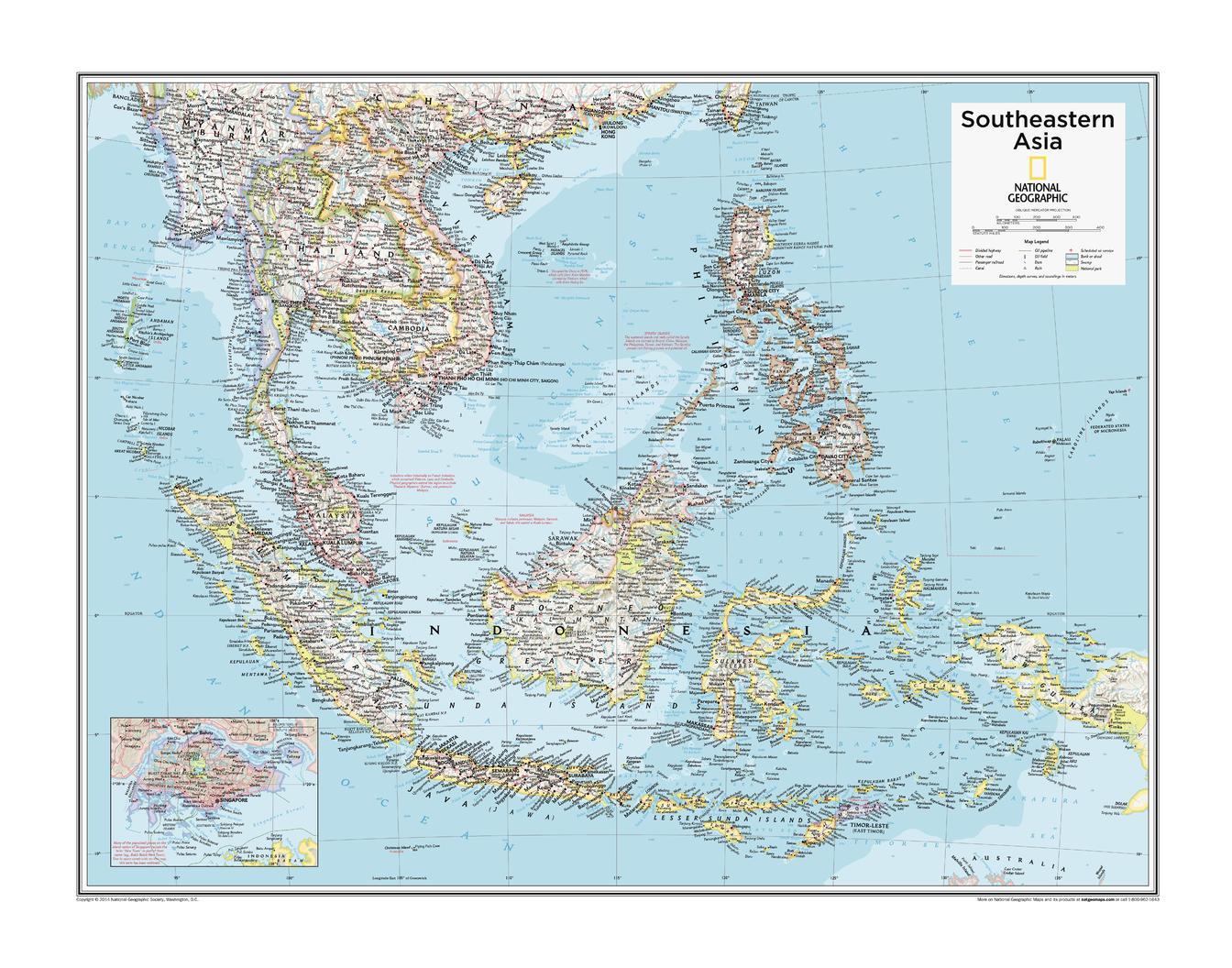 Southeastern Asia