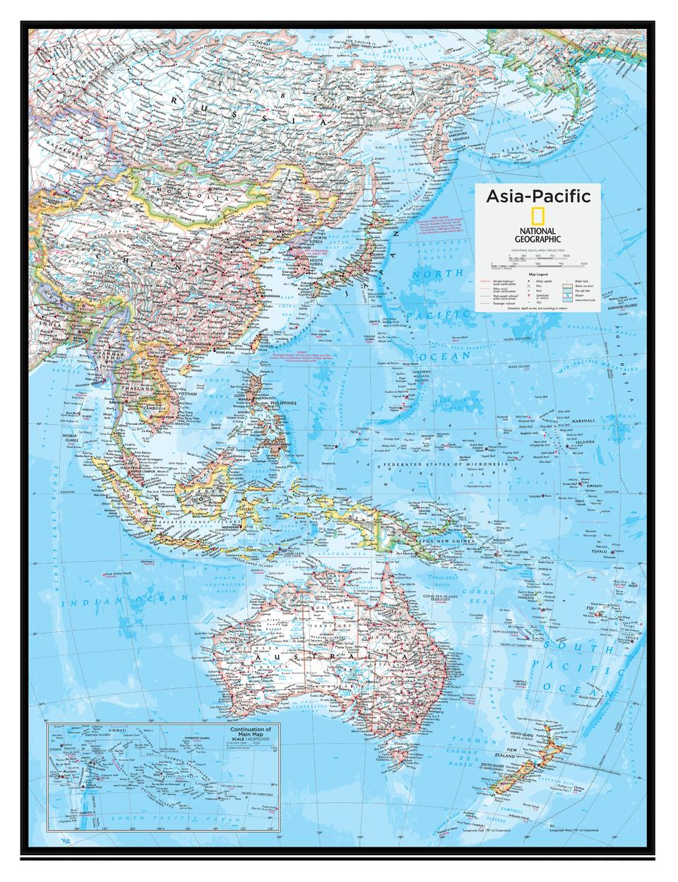 Asia Pacific Atlas Of The World 10th Edition