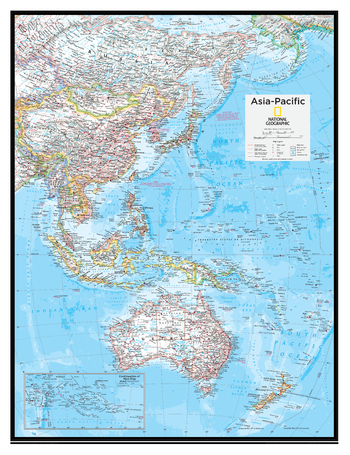Asia-Pacific - Atlas of the World, 10th Edition