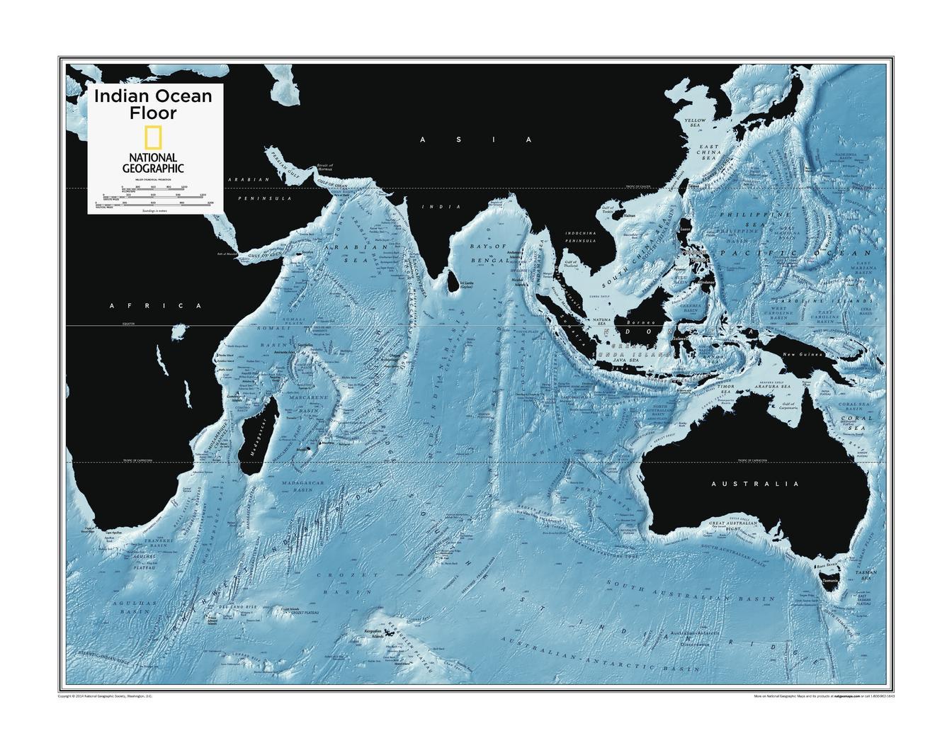 Indian Ocean Floor