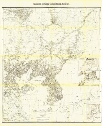 Korea and Manchuria - Published 1904