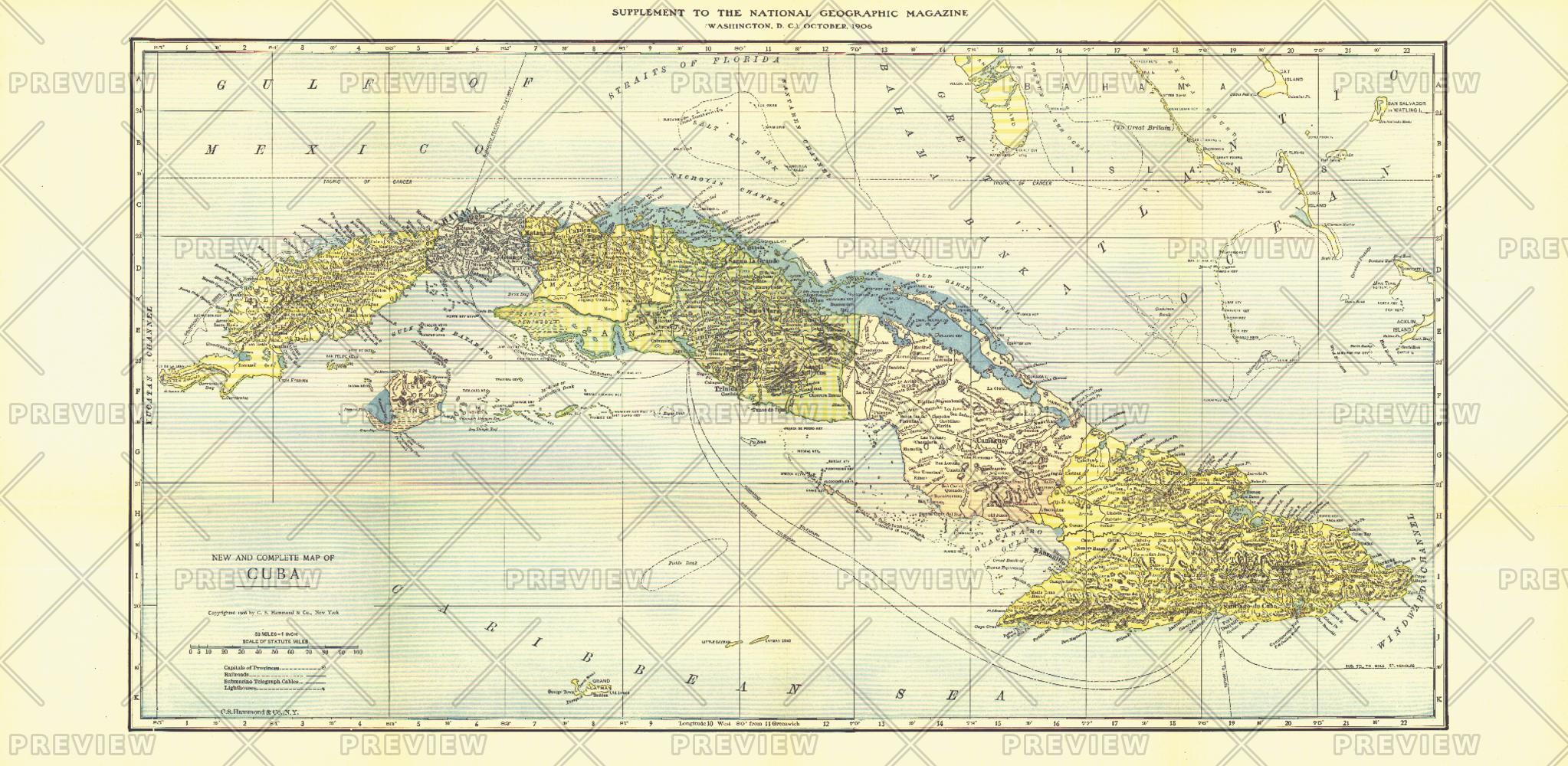 Cuba - Published 1906