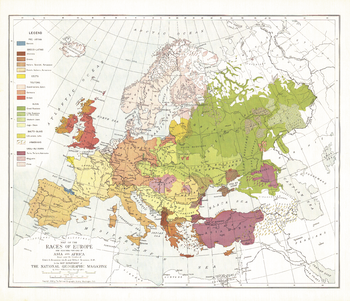 Races of Europe - Published 1918