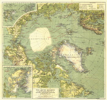 Arctic Regions - Published 1925