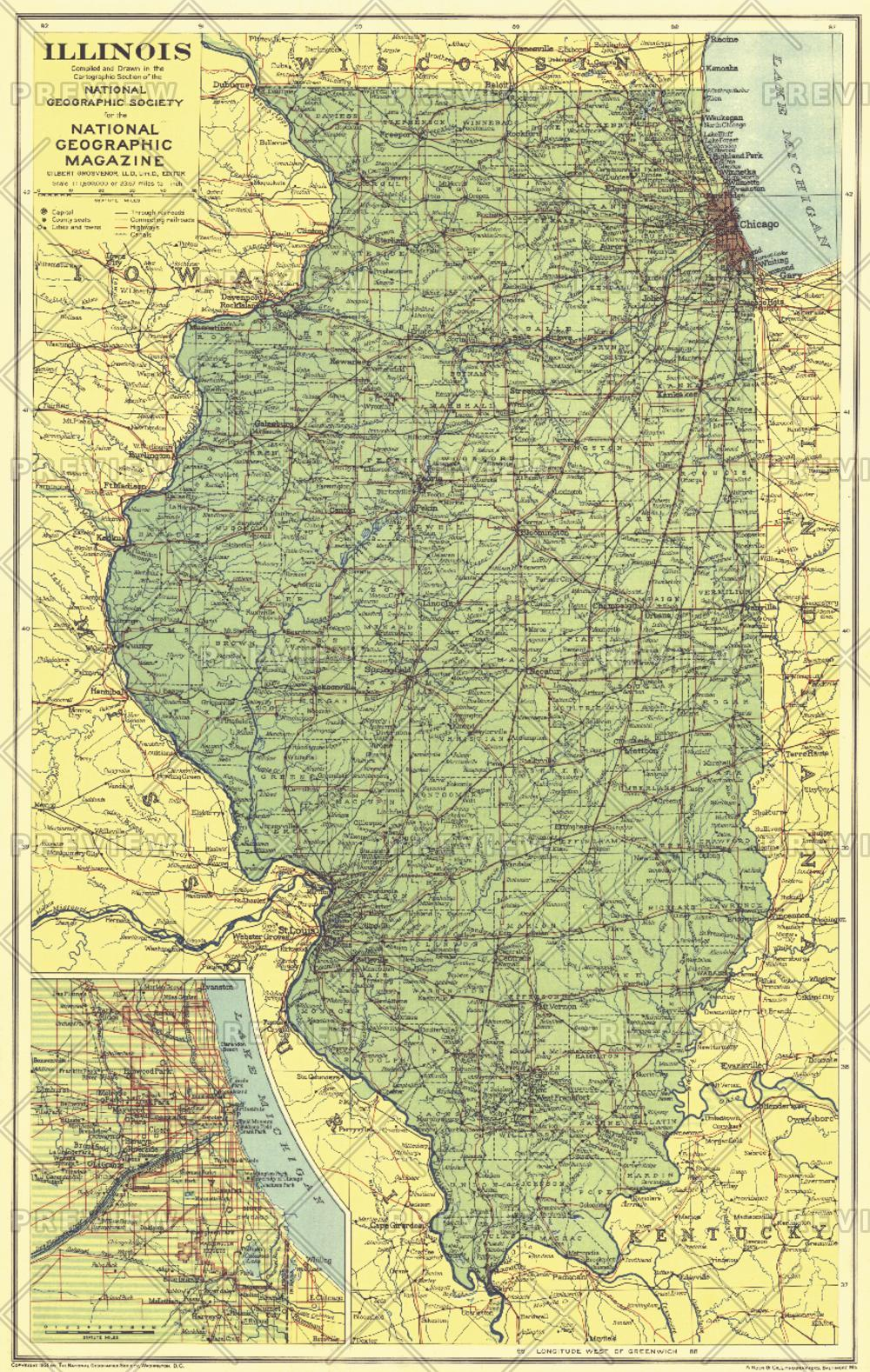 Illinois - Published 1931
