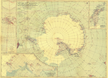 Antarctic Regions - Published 1932
