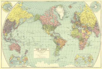 Mapsherpa pod world maps sample map world published 1935 a national geographic gumiabroncs Images