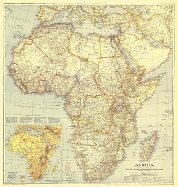 Africa  -  Published 1935