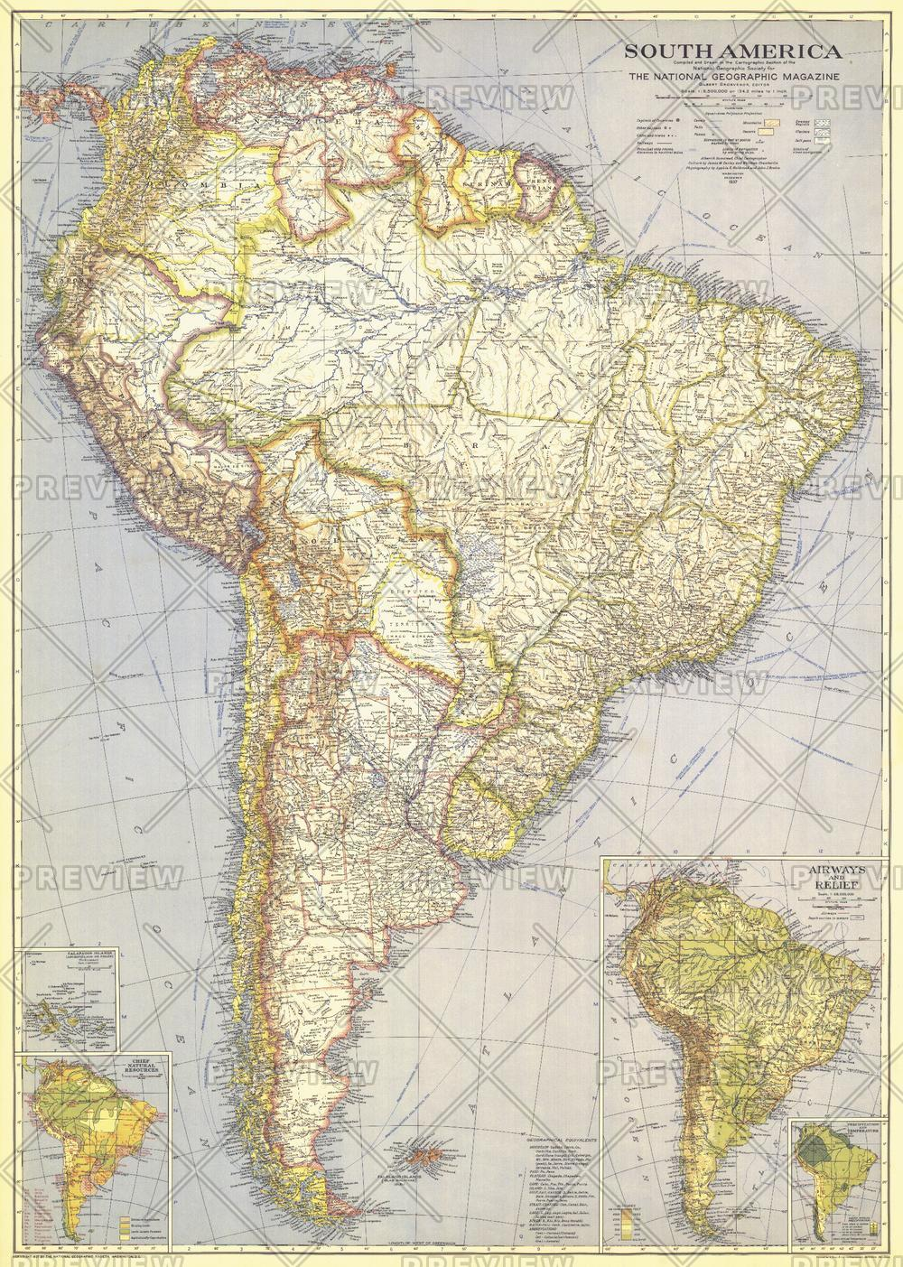 South America  -  Published 1937