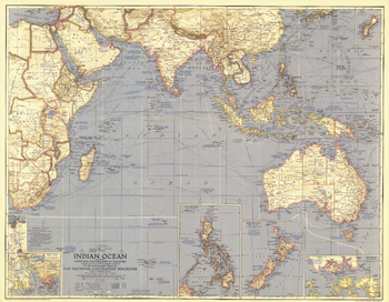 Indian Ocean  -  Published 1941
