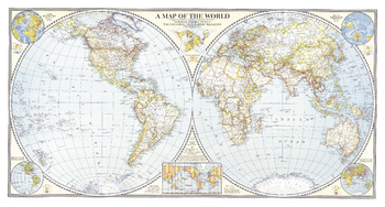 World Map - Published 1941