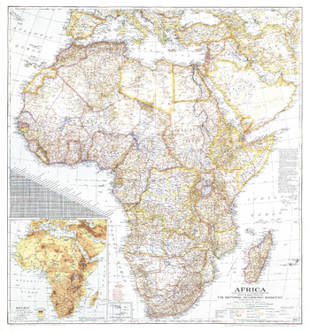 Africa  -  Published 1943