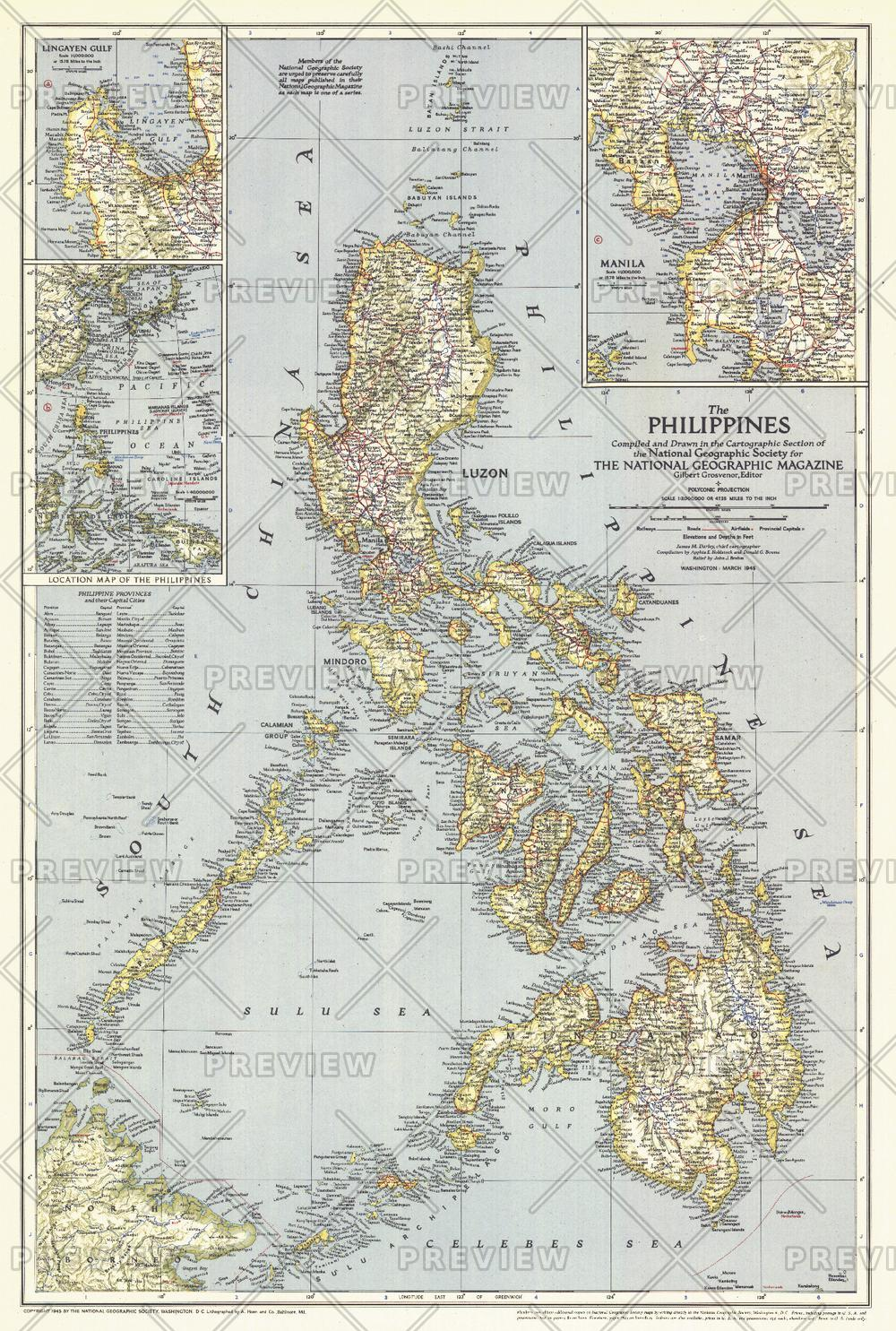 Philippines  -  Published 1945
