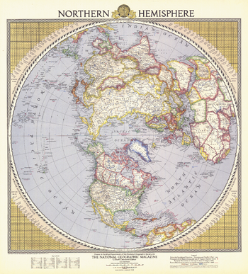 Northern Hemisphere  -  Published 1946