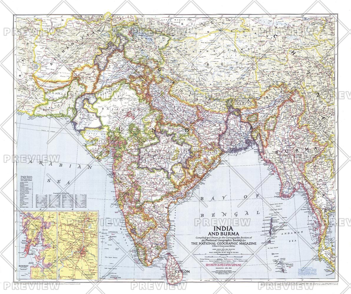 India and Burma  -  Published 1946