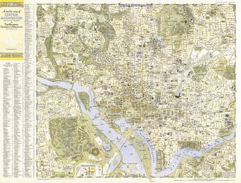 Central Washington, District of Columbia  -  Published 1948