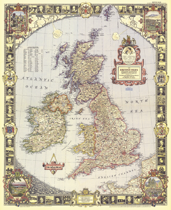 British Isles  -  Published 1949