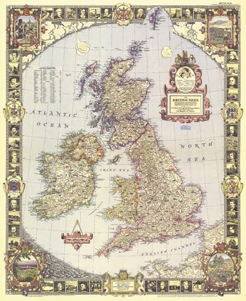 British Isles  -  Published 1949