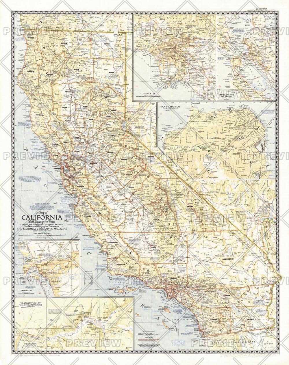 California - Published 1954