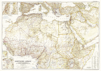 Northern Africa  -  Published 1954