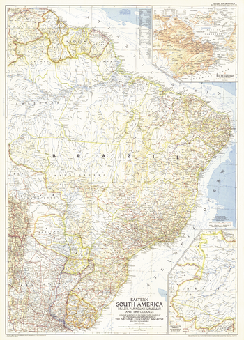 Eastern South America  -  Published 1955
