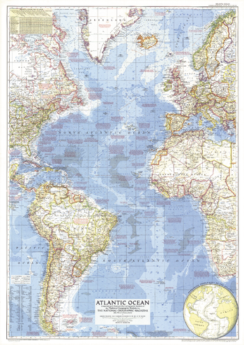 Atlantic Ocean  -  Published 1955