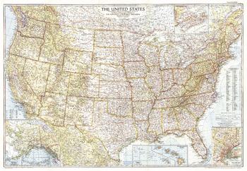 United States of America  -  Published 1956