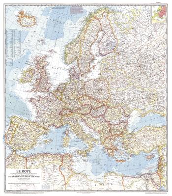 Europe  -  Published 1957