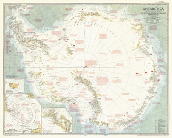Antarctica  -  Published 1957