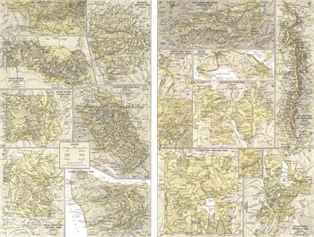 National Parks Inset Maps - Published 1958
