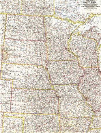 North Central United States  -  Published 1958
