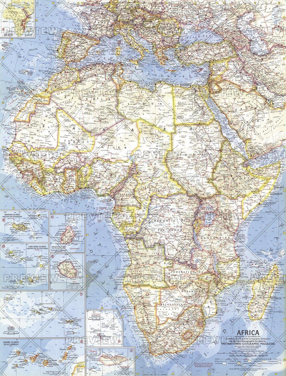Africa  -  Published 1960