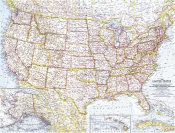 United States of America  -  Published 1961