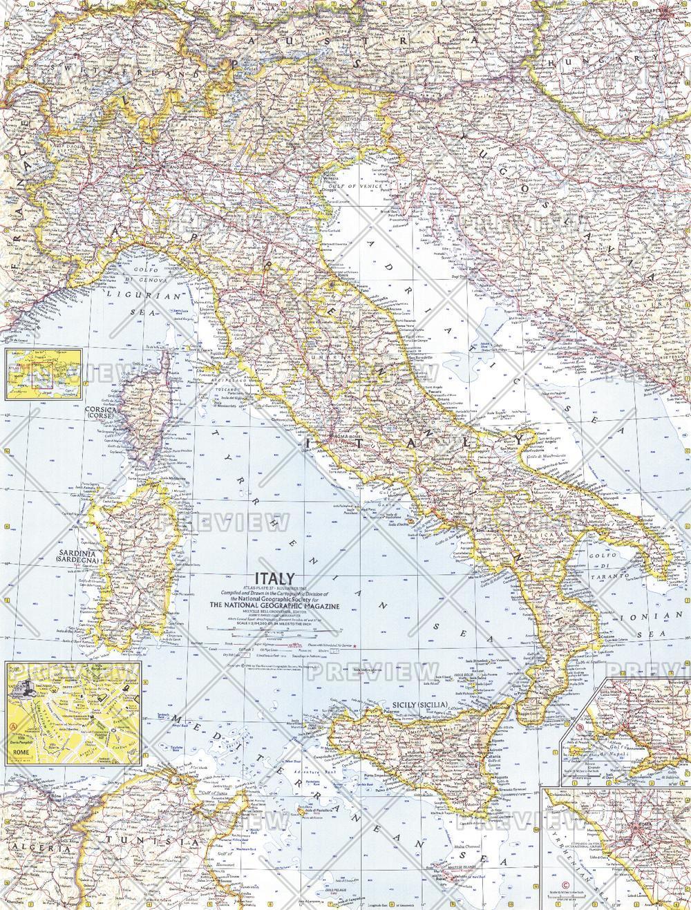 Italy  -  Published 1961