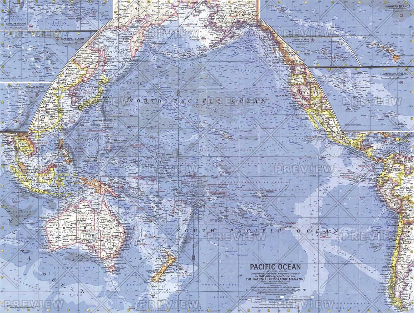 Pacific Islands  -  Published 1962