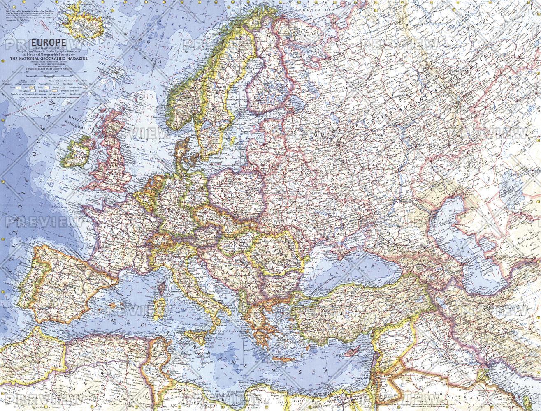 Europe  -  Published 1962