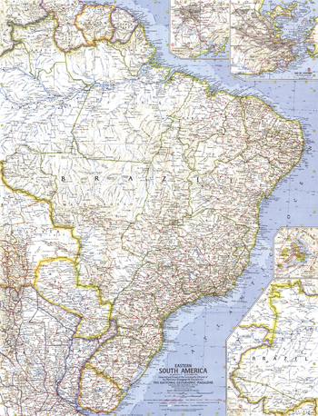 Eastern South America  -  Published 1962