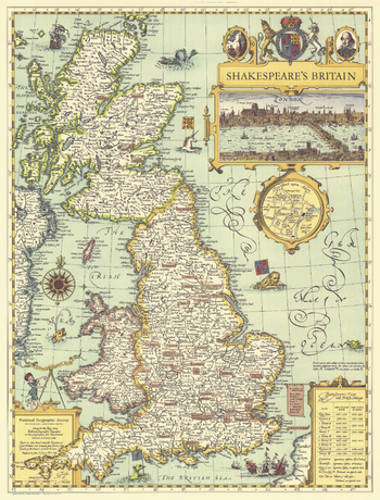 Shakespeares Britain  -  Published 1964