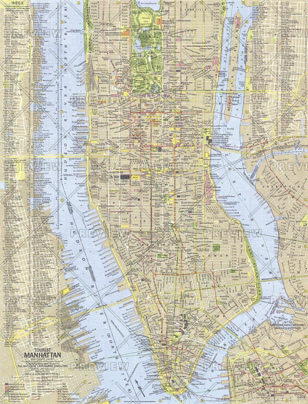 Tourist Manhattan  -  Published 1964