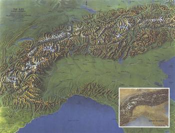 Alps, Europes Backbone  -  Published 1965
