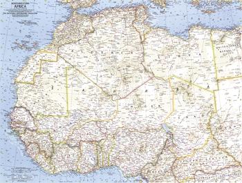 Northwestern Africa  -  Published 1966