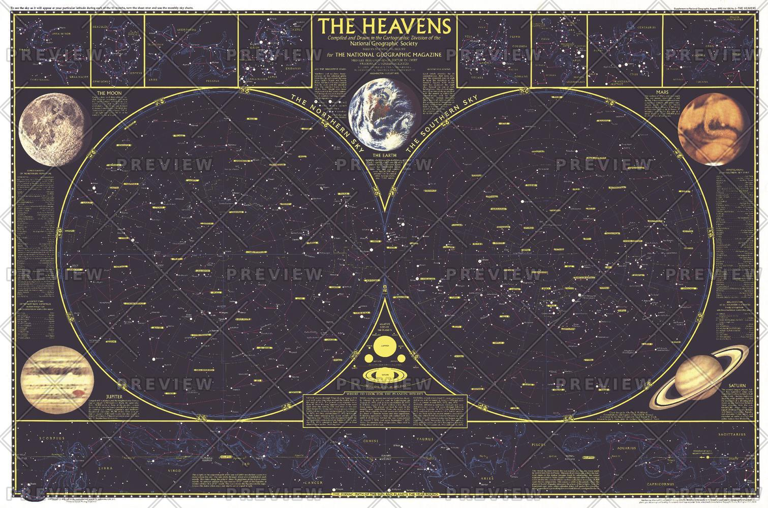 Heavens - Published 1970