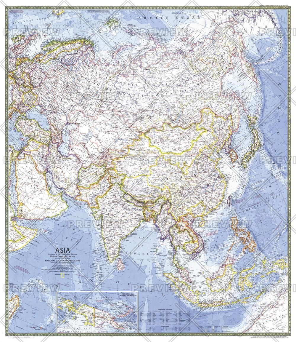 Asia  -  Published 1971