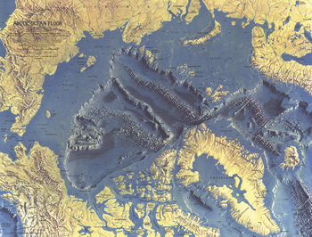 Arctic Ocean Floor  -  Published 1971