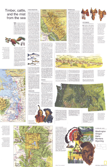 Close-up USA, Northwest Theme - Published 1973