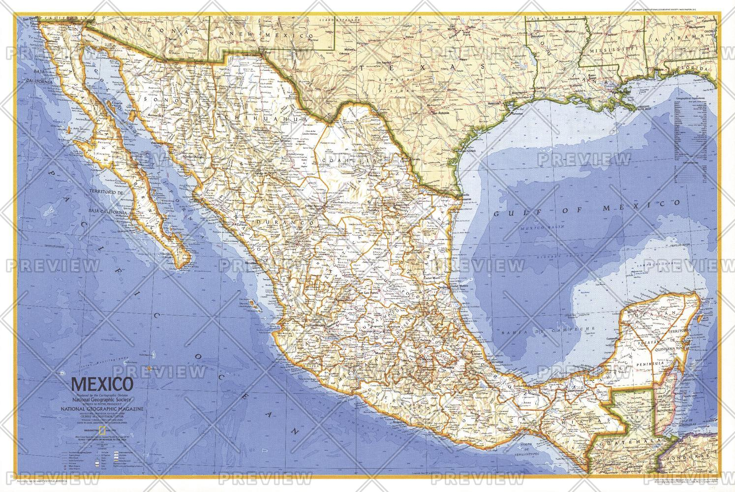 Mexico  -  Published 1973