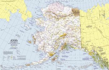 Close-up USA, Alaska  -  Published 1975