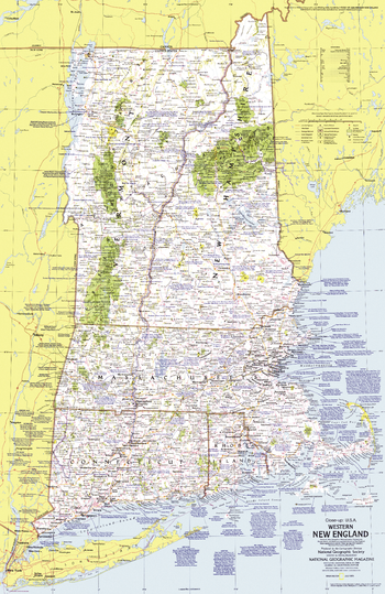 Close-up USA, Western New England  -  Published 1975